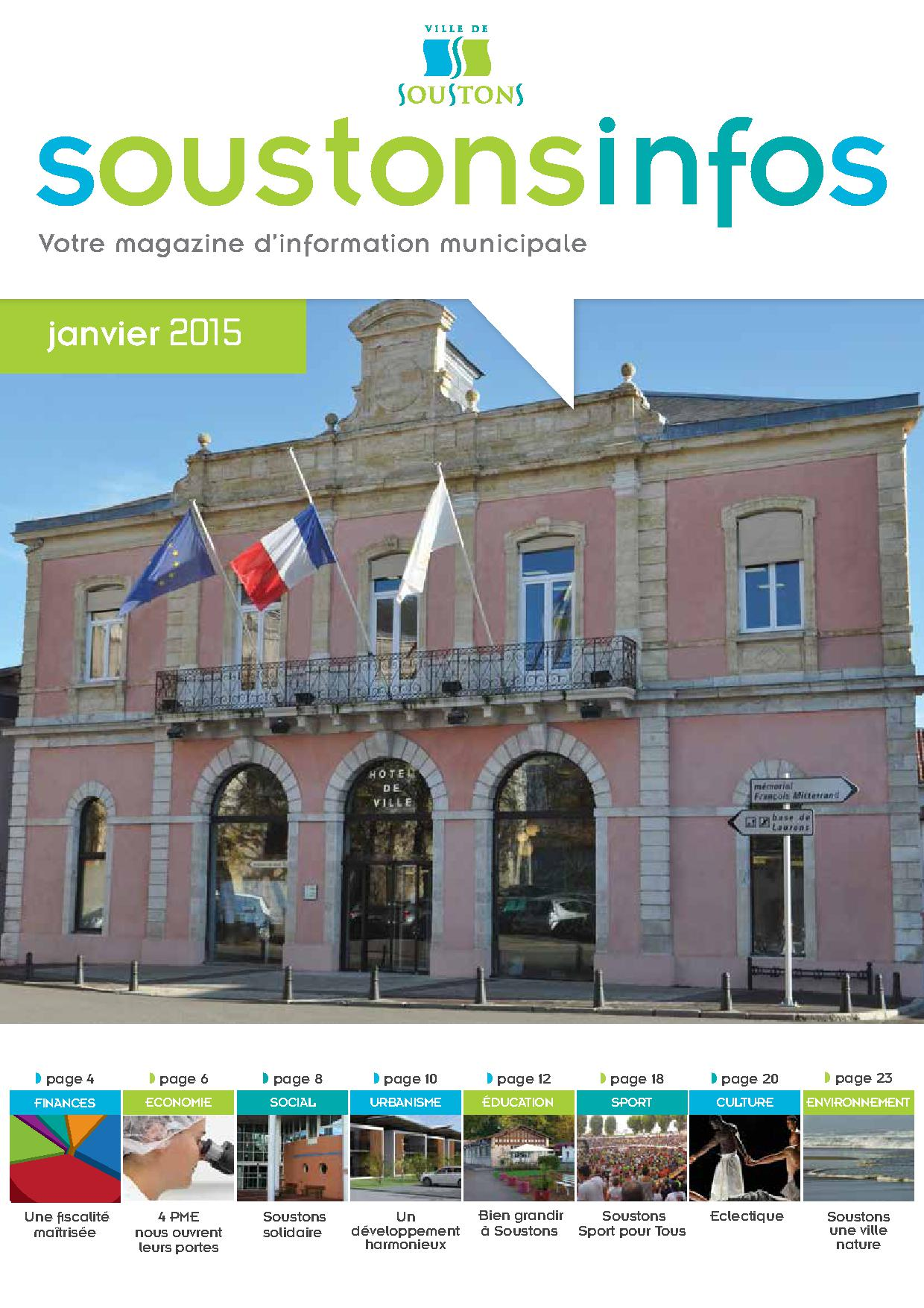 SOUSTONS INFOS janvier 2015